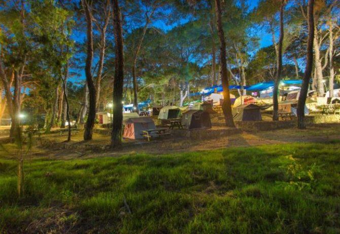 İncekum Orman Kamp Alanı