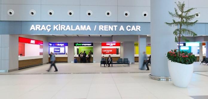 İstanbul Havalimanı Araç Kiralama Şirketleri