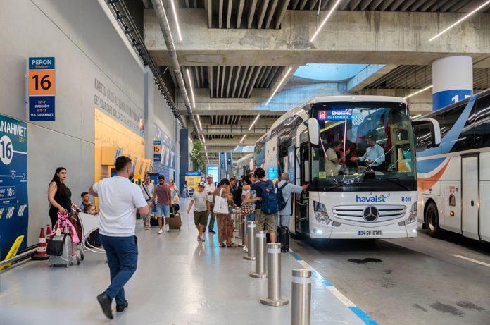 İstanbul Havalimanı HAVAİST Yolcu Otobüsü