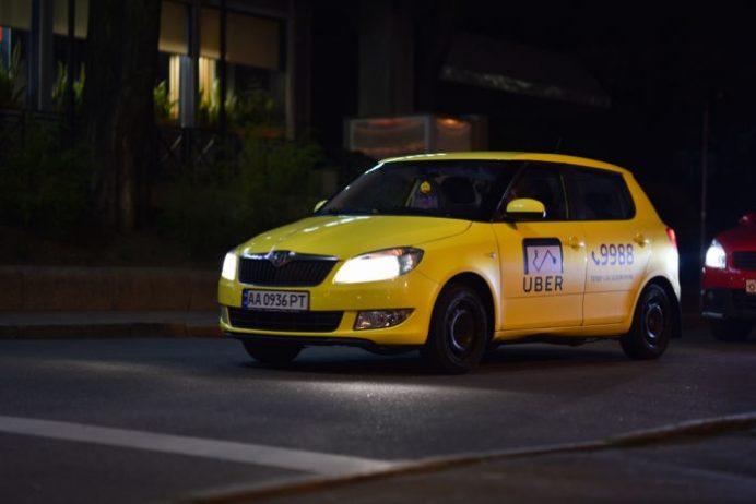 Kiev havalimanı Uber Aracı