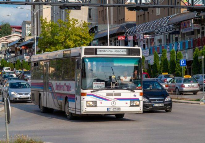 Priştine Havalimanı Otobüs
