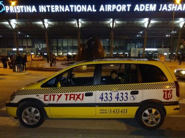 Priştine Havalimanı Taksi