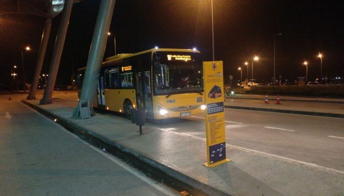 Priştine Havalimanı Yolcu Otobüsü
