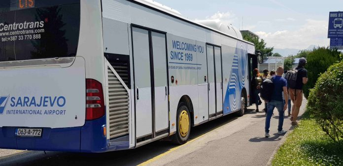 Saraybosna Havalimanı Yolcu Otobüsü