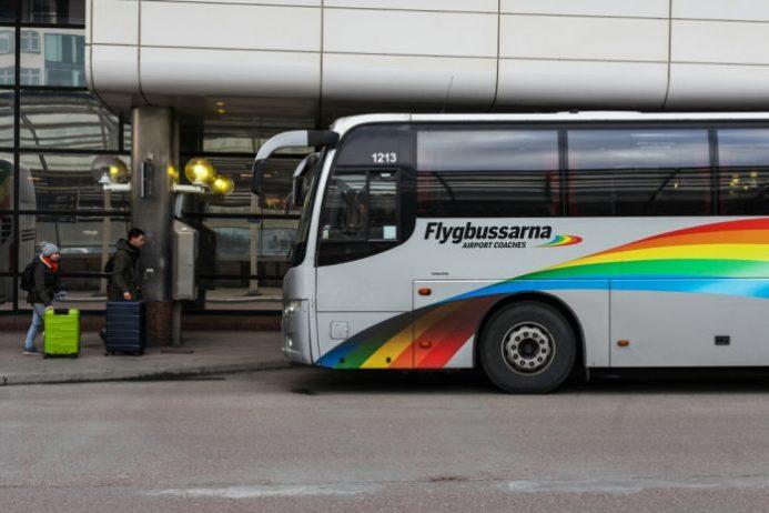 Stockholm Havalimanı Flygbussarna Yolcu Servisi