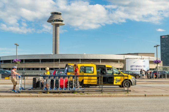 Stockholm Havalimanı Taksi Ulaşımı