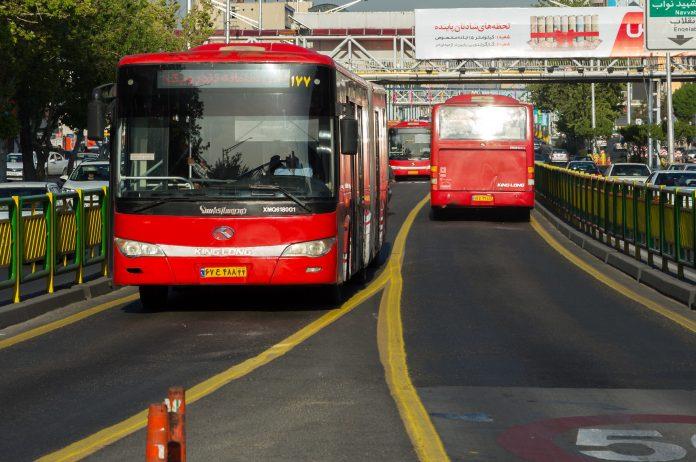 Tahran Havalimanı Yolcu Otobüsü