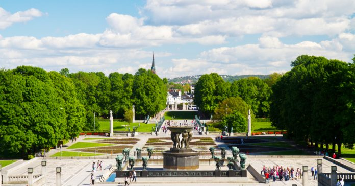 the vigeland sculpture parkı