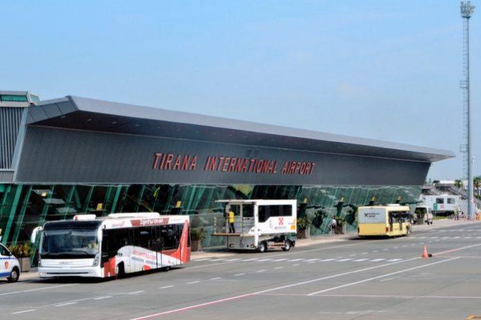 Tiran Havalimanı Otobüs Ulaşımı