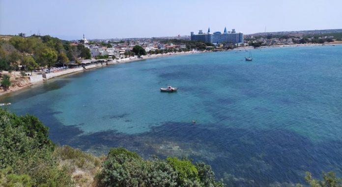 Akkum Sağtur Plajı Kamp Alanı