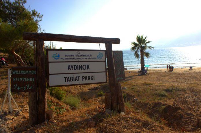 Aydıncık Tabiat Parkı Kamp Alanı
