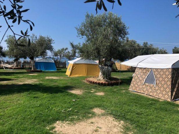 Barbaros Beach Camping