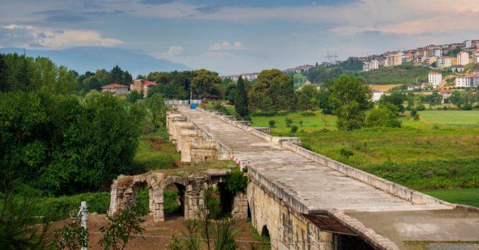 Beşköprü (Justinianus Köprüsü)