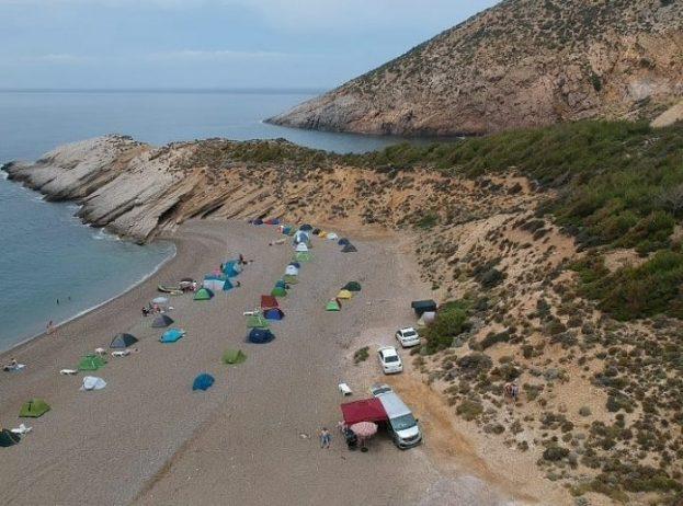 Evreşe Plajı Not-Stop Kamp Alanı