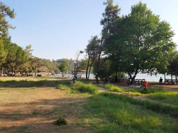 Günlüklü Koyu Kamp Alanı