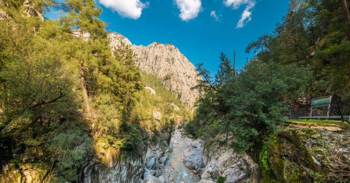 Kesme Boğazı Kanyonu