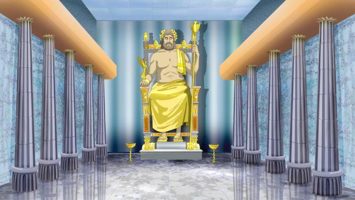 Zeus Heykeli, Olimpia