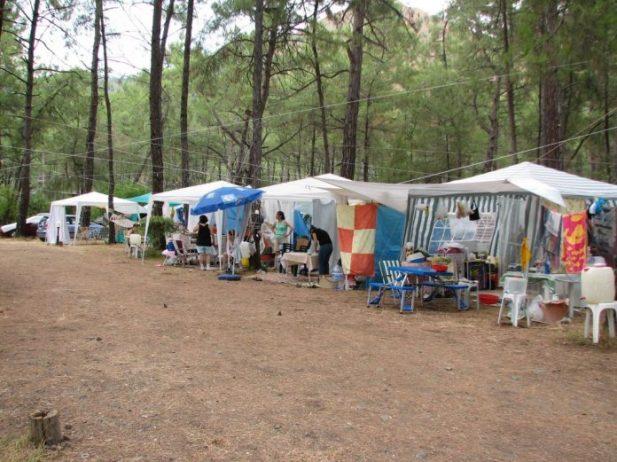 Çubucak Tabiat Parkı Kamp Alanı