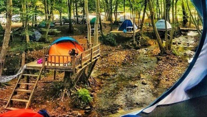Erikli Şelalesi Kamp Alanı