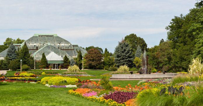 garfield botanik bahçesi
