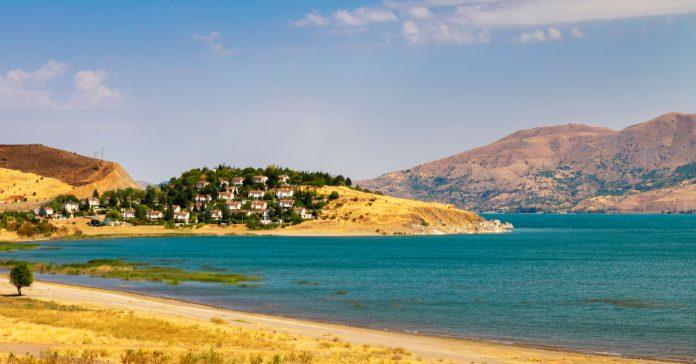 hazar gölü ve plajı