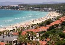 İzmir Denize Girilecek Yerler