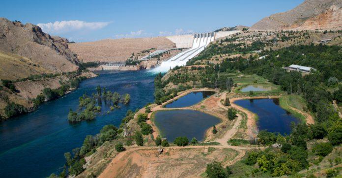 keban barajı ve gölü