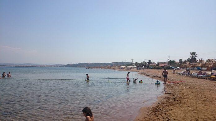 Cunda Halk Plajı Kamp Alanı