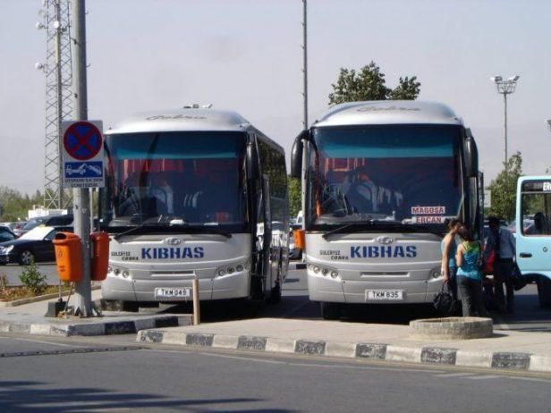 Ercan Havalimanı KIBHAS Otobüsleri