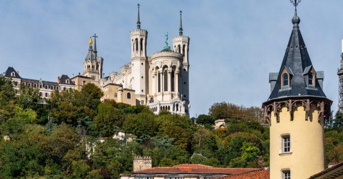 Lyon notre dame bazilikası