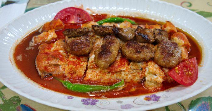 Eskişehir Balaban Kebabı Yemeği