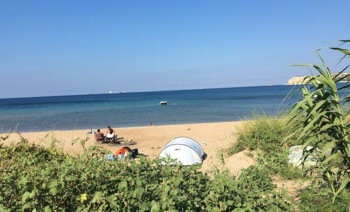Sulubahçe Plajı Kamp Alanı