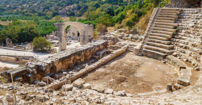 elauista sebaste antik kenti