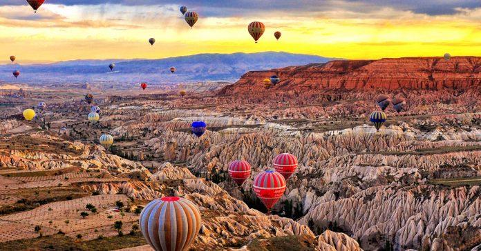 kapadokya balonlar
