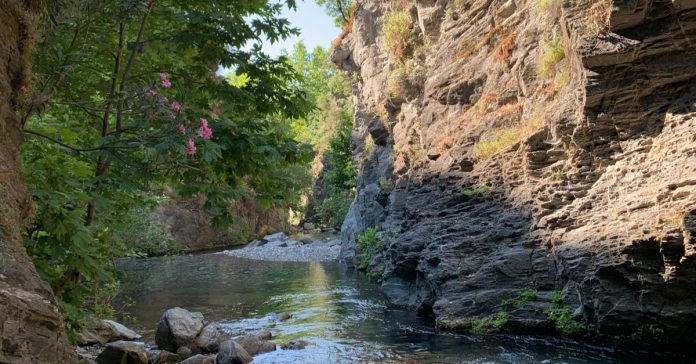 şahindere kanyonu