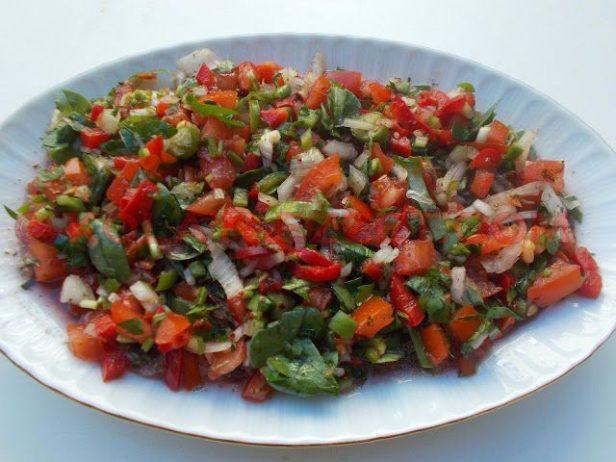 Antep Kaşık Salatası