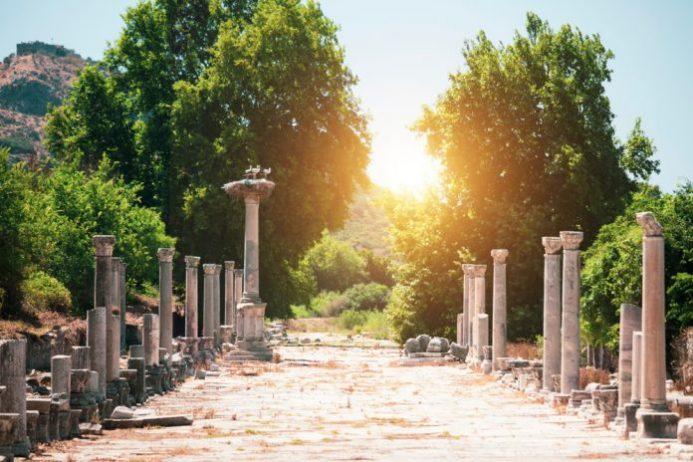 Liman Caddesi, Efes Antik Kenti