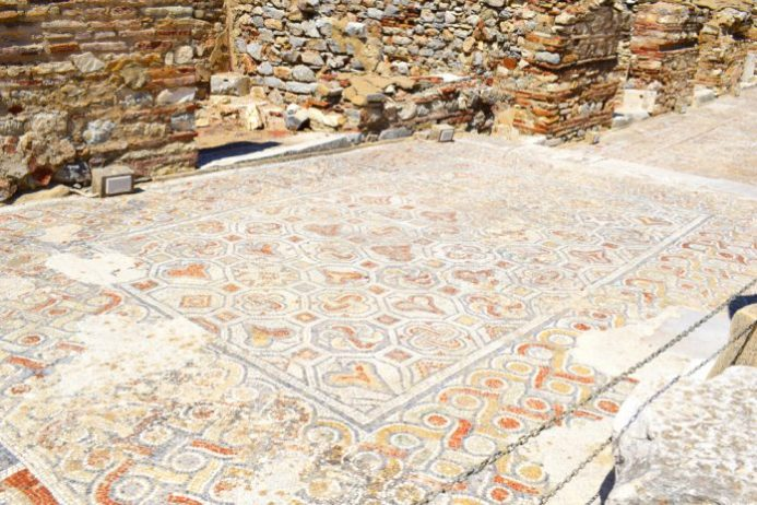 Mozaikli Kaldırım, Efes Antik Kenti