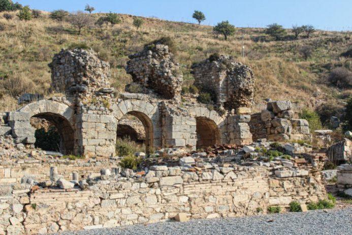 Skolastika Hamamları, Efes Antik Kenti