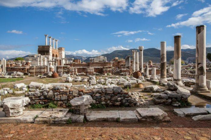 St. Jean Bazilikası, Efes Antik Kenti