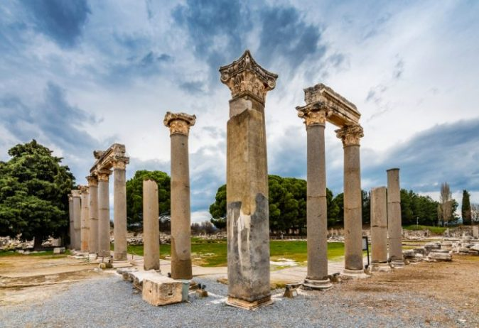 Ticari Agora, Efes Antik Kenti