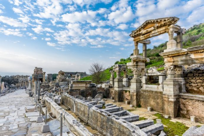 Trajan Çeşmesi, Efes Antik Kenti