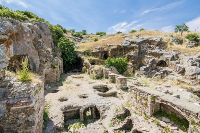 Yedi Uyurlar, Efes Antik Kenti