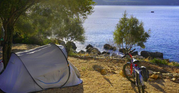 Kaş'ta Kamp