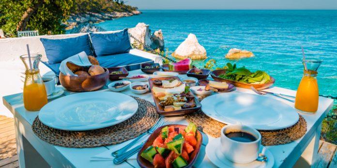 Fethiye'de kahvaltı