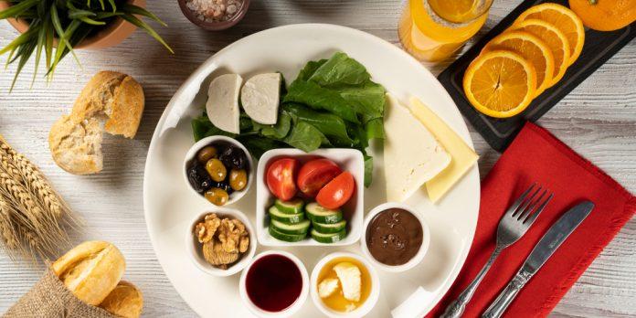 kahvaltı tabağı