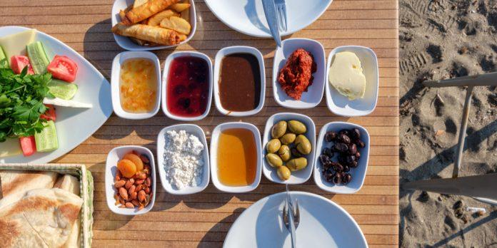 Marmaris'te Kahvaltı