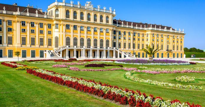 shönbrunn sarayı