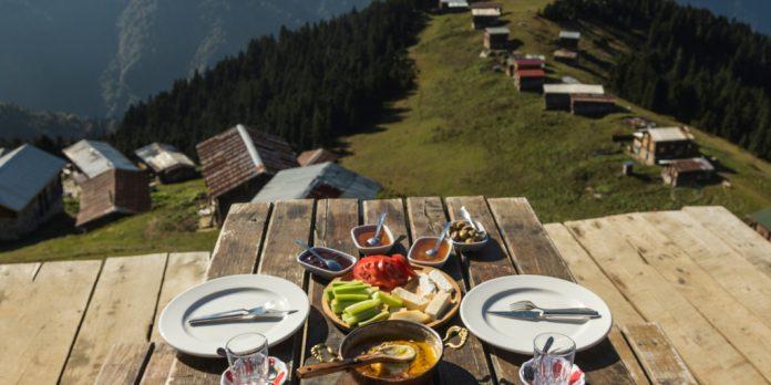 manzaralı kahvaltı mekanları