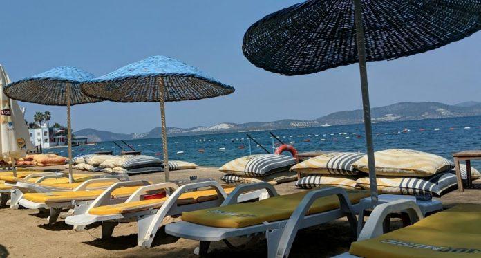Özkan Beach, Milas